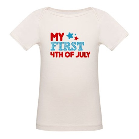 My First 4th of July Organic Baby T-Shirt