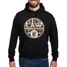 In Dogs We Trust K9 Unit Brown Hoodie