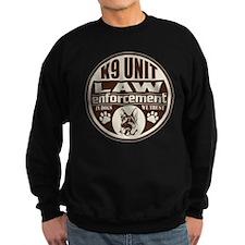 K9 In Dogs We Trust Dark Brown Sweatshirt