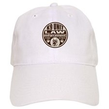 K9 In Dogs We Trust Dark Brown Baseball Cap