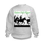 Future Polo Player Kids Sweatshirt