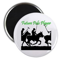Future Polo Player Magnet