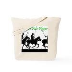 Future Polo Player Tote Bag