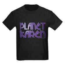 Cute Planet karen logo large T