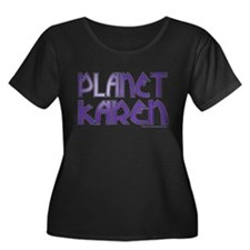 Cute Planet karen logo large T