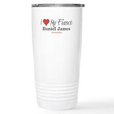 I Heart My Fiancé Travel Mug