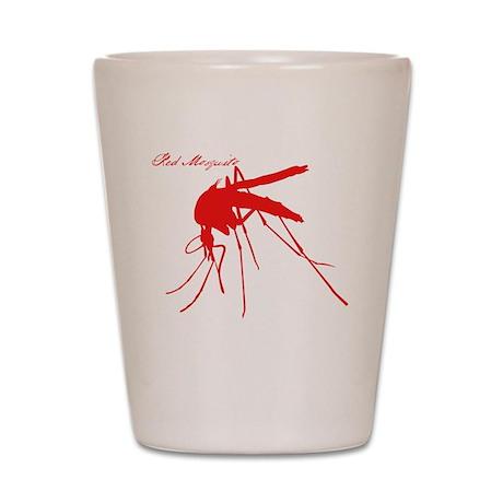 Red Shot Glass