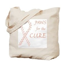 Peach Paws Cure Tote Bag