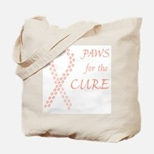 Peach Paws Cure Tote Bag