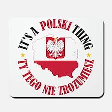 Polish Thing Mousepad