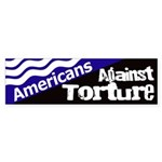 Americans Against Torture Bumper Sticker