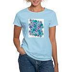 Flower Garden 3 Women's Pink T-Shirt