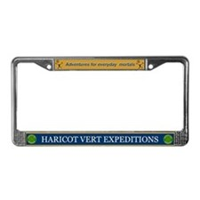 HV Stick-ons! License Plate Frame