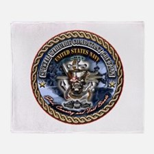 USN SWCC Throw Blanket