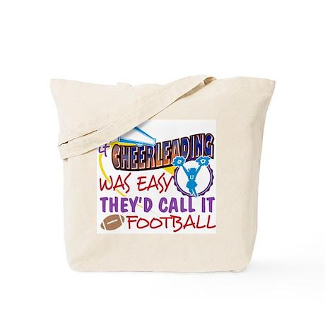 Cheerleading Was Easy Tote Bag
