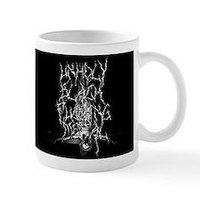 Unholy Black Fucking Metal Mug