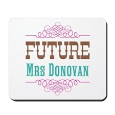 Pink Future Mrs Mousepad