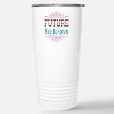 Pink Future Mrs Travel Mug