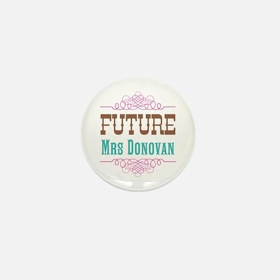 Pink Future Mrs Mini Button