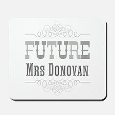 Personalized Future Mrs Mousepad