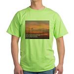 Isaiah 40:3 Green T-Shirt