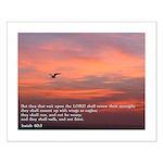 Isaiah 40:3 Small Poster