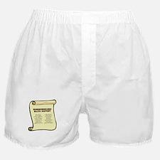 Homeschoolers Make History Boxer Shorts