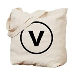 Circle V Tote Bag