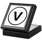 Circle V Keepsake Box