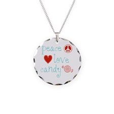 Peace, Love and Candy Necklace