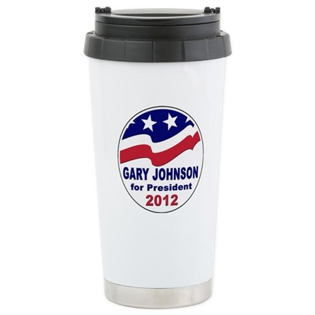 Gary Johnson for President Stainless Steel Travel