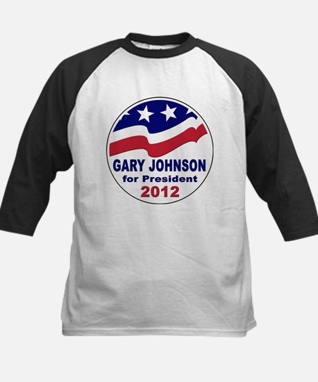 Gary Johnson for President Kids Baseball Jersey