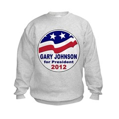 Gary Johnson for President Sweatshirt