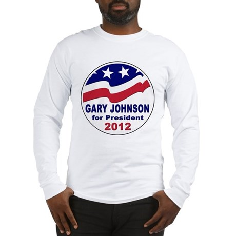 Gary Johnson for President Long Sleeve T-Shirt