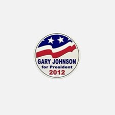 Gary Johnson for President Mini Button