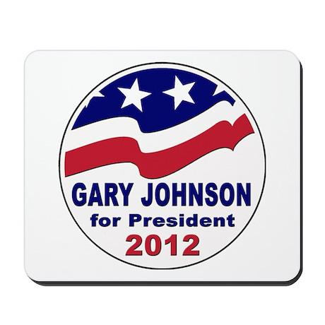 Gary Johnson for President Mousepad