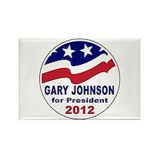 Gary Johnson for President Rectangle Magnet (100 p