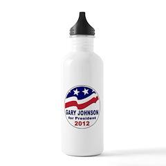 Gary Johnson for President Water Bottle