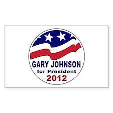 Gary Johnson for President Decal