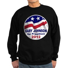 Gary Johnson for President Sweatshirt