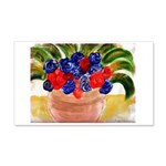 Flowers in Pot 20x12 Wall Decal