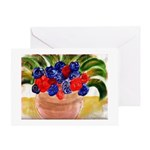 Flowers in Pot Greeting Card