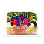 Flowers in Pot Postcards (Package of 8)
