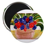 Flowers in Pot Magnet
