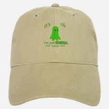 Customizable Just Residual Ghost Baseball Baseball Cap