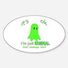 Customizable Just Residual Ghost Decal