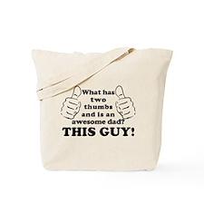 Cute I'm awesome Tote Bag