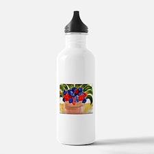 Flowers in Pot Sports Water Bottle