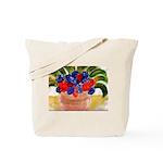 Flowers in Pot Tote Bag