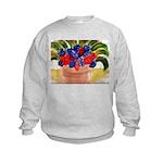 Flowers in Pot Kids Sweatshirt